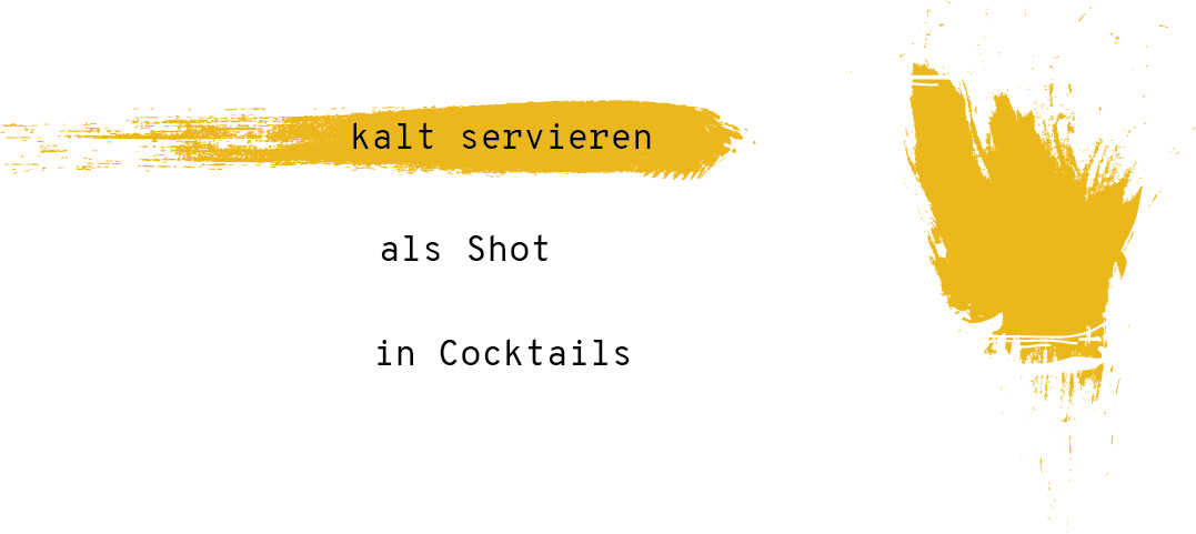 Zimt Serviertipp: Als Shot oder in Cocktails