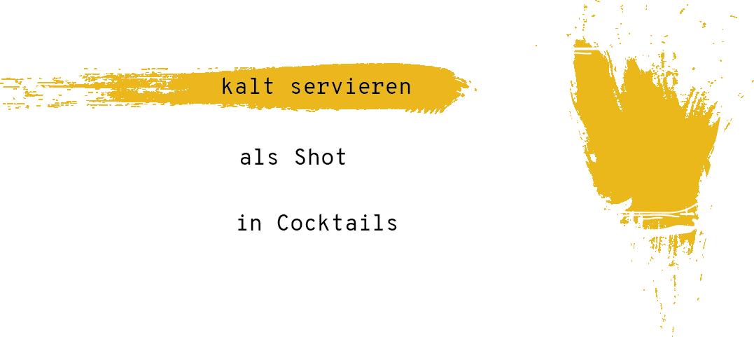 Zimt Serviertipp: Als Shot oder in Cocktails